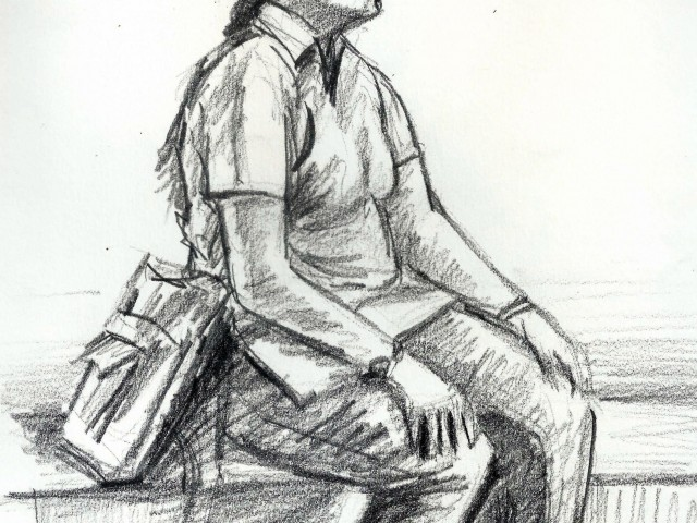 Posture Study  [CWA]  [4th Oct 2014]