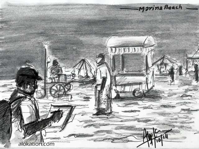 Sketching Marina [CWA] [4th Oct 2014]